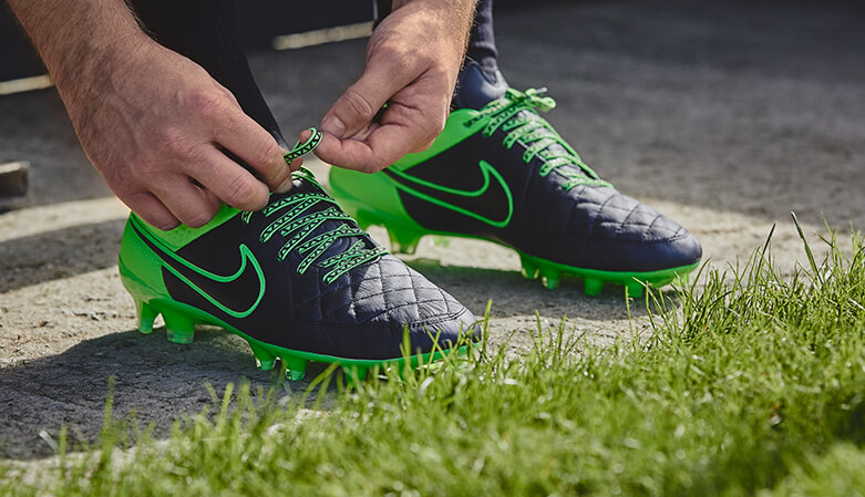 Tying Green Laces